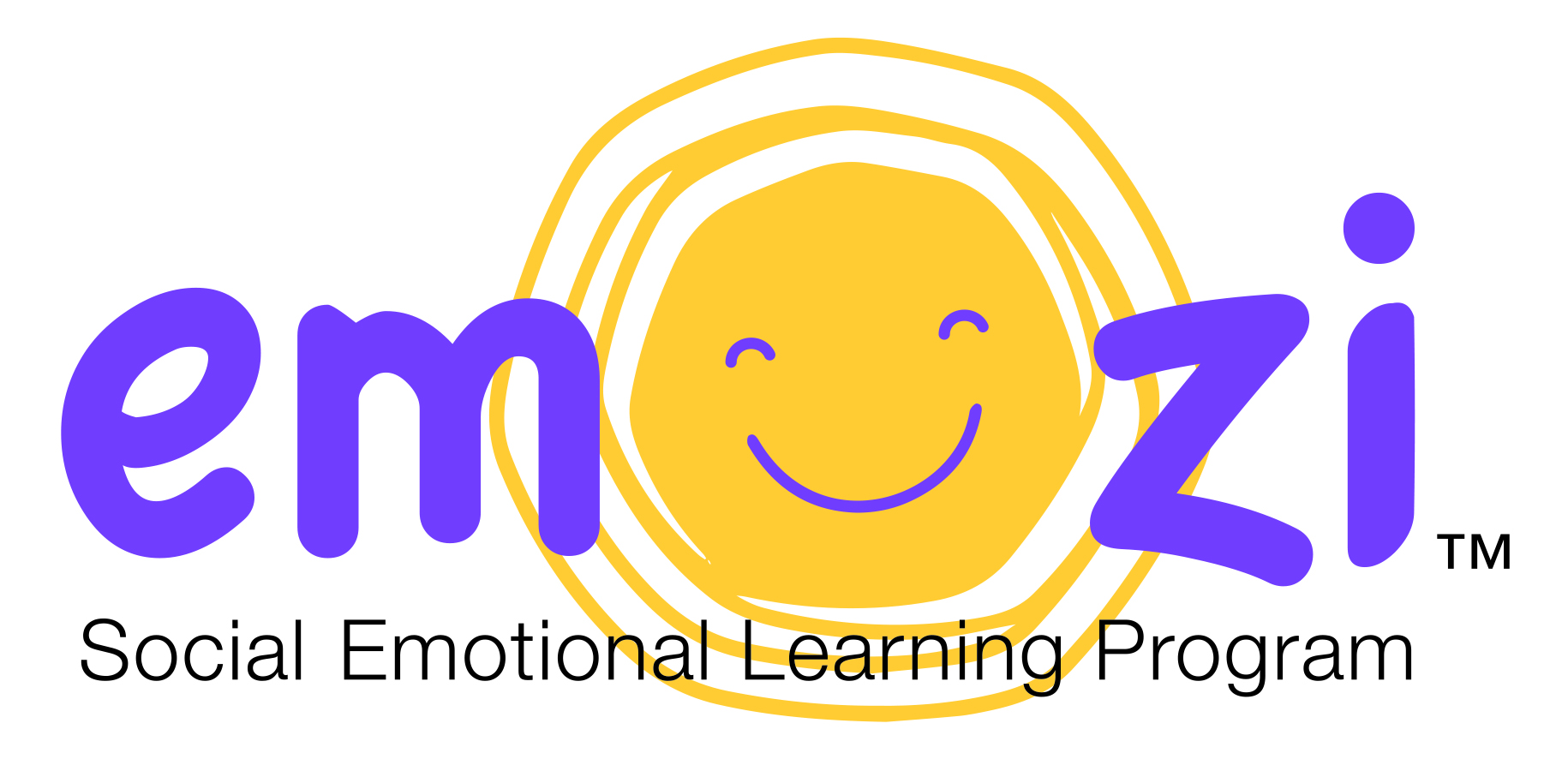 Emozi logo with tagline